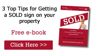 Free E-Book - how to prepare your home for sale in 3 easy steps by Sue Dewar